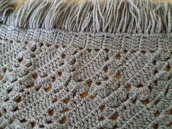 Detail Crochet Shawl