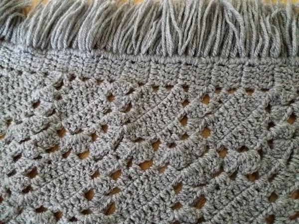 Detail Crochet Shawl