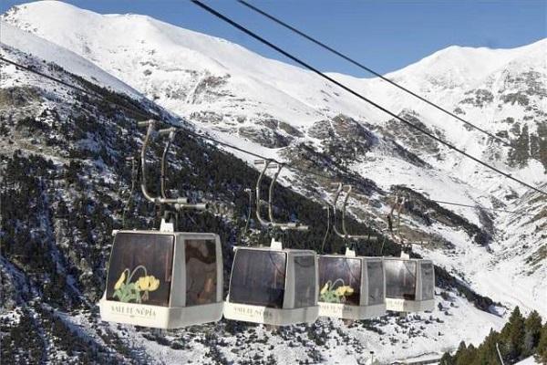 Vall de Nuria Chairlift