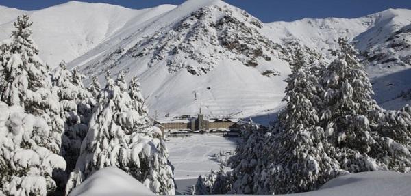 Vall de Nuria overview